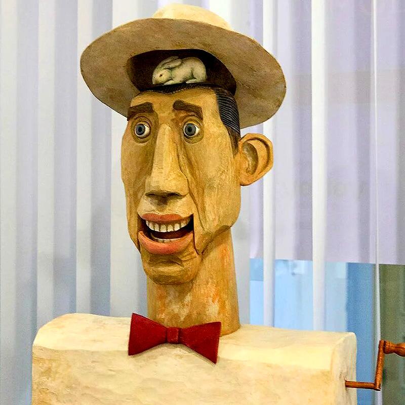 Выставка «Мастерской кукол Рудольфиус»